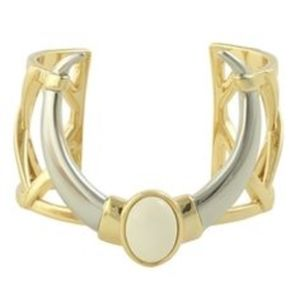 House of Harlow 1960 Ankolie Horn Cuff